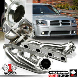 Stainless Steel Exhaust Header Manifold for 05-10 Magnum/300/Charger 5.7 HEMI V8