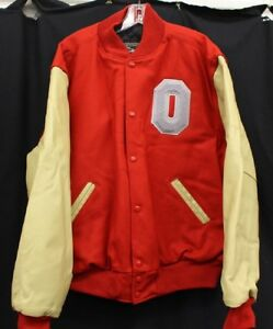 Official Ohio State University Letterman Coat (Large) - Free Shipping Included