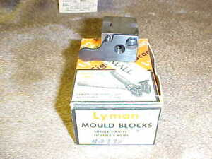 1 Lyman Single Cavity Bullet Mold Mould No 358432 Looks NOS