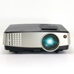 Multimedia Home Theater Video Projector HDMI 1080P Movie Game Ceiling Projection