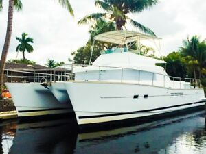 Lagoon 43 Power Catamaran 2005 twin turbo Yanmar 315s 4 staterooms 4 heads