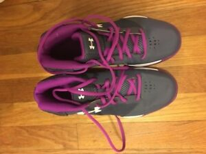 Under Armour Youth Girls Jet Basketball Shoes Size 6Y