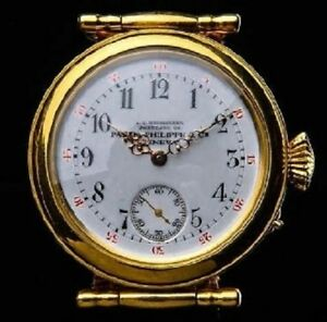 Luxury Antique High Grade Patek Philippe Gold Plated Unisex Watch. From 1880-90