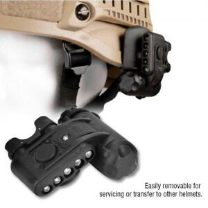 Tactical Military LED Survival Safety Light Signal Flash Light Lamp for Helmet