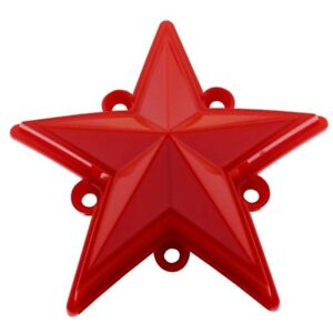 5 Pack XD Series Rockstar Wheels Red Replacement Star XDSTAR-RD-PK