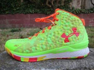 DS UNDER ARMOUR CURRY 1 SOUR PATCH CANDY REIGN sz 13 mvp iv ii dubnation