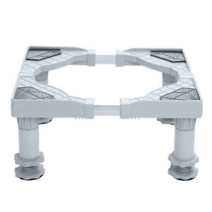 Universal Washing Machine Base Adjustable Laundry Pedestal Raised Stand New Hot