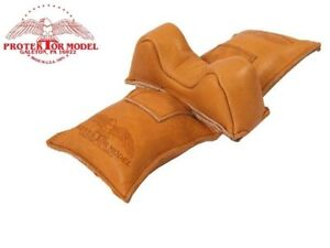 Protektor Model - #4 Leather Small Owl Ear Straddle Shooting Rest Bag