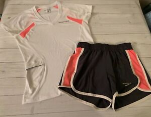 Brooks Running Outfit Womens XS Top & Shorts Trendy