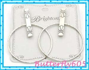 Brighton Marrakesh Soleil Post Hoop Earrings NWT $42
