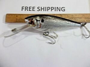 Bagley Monster Shad Musky Lure LEADED LIP DEEPER DIVING FISHING LURE RARE TACKLE