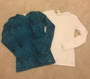 COLD GEAR winter running shirts women's small like under armour nike