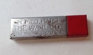 Vintage Medium Hard Lead with leads in it - The Wahl Company Made in Chicago