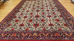 7 x 10 Magnificent Fine Durable Persian Bijar Hand Knotted Wool Rug Made In Iran