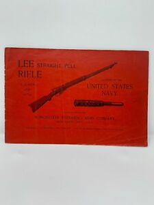 Original Lee Straight Pull Rifle .236 Winchester -Navy - Manual Instruction Book