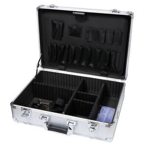 Aluminum Hard Case Home Garden Toolboxes Carrying Case Equipment Storage Boxes