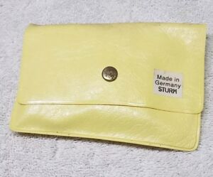 Vintage Army Military Sewing Uniform Repair Kit Made in Germany STRUM Yellow $7.99