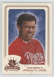 2003 Donruss Diamond Kings Bronze Foil #195 Ryan Howard Philadelphia Phillies