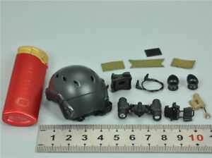 Helmet & NVG for MODELING TOYS MMS9003 US NAVY SEAL UNDERWAY BOARDING UNIT 12''