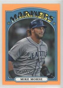 2013 Topps Archives Hobby Shop Orange Day Glo Mike Morse #15 $1.69