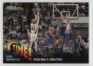 1995 Upper Deck Collector's Choice Player's Club Orlando Magic vs Indiana Pacers