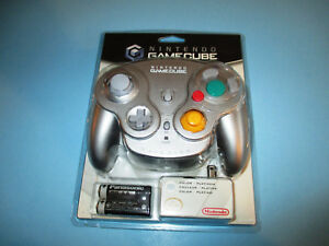 Official Nintendo Gamecube Wavebird Wave Bird Wireless Platinum Controller NEW