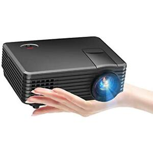TENKER Video Projectors Mini 80 ANSI 2019 With 170-inch Display Supports 1080P
