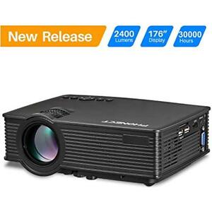 Projector Video Projectors 2400 LUX 4Inch Mini With 170