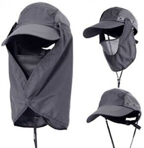 YSLON Outdoor Sun Hat Fishing Cap For Man Woman Protection Sunscreen Neck