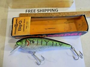 Cotton Cordell Big-O Saltwater 6in Fishing Lure Musky Striped Bass AWESOME COLOR