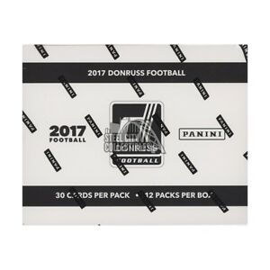 2017 Panini Donruss Football 12ct Fat Pack Box