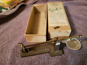 Redding Powder and Bullet Scale with Original Box