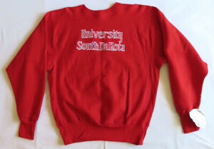 University South Dakota Vintage Sweatshirt 90's 1990's Champion Reverse Weave