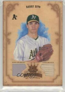 2004 Donruss Diamond Kings Bronze Materials Memorabilia #16 Barry Zito Card