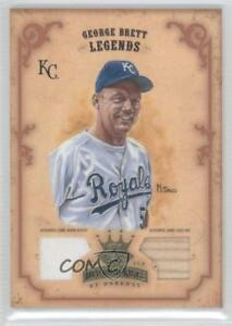 2004 Donruss Diamond Kings Bronze Materials Memorabilia #167 George Brett Card