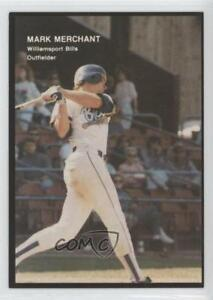 1990 Best Minor League #277 Mark Merchant Williamsport Bills Rookie Card