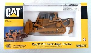 NORSCOT DIECAST CONSTRUCTION VEHICLE CAT D11R TRACK-TYPE TRACTOR *NEW IN BOX