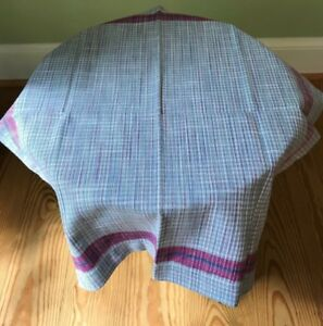 NEW JULISKA Khadi Plaid Napkin Set of 4