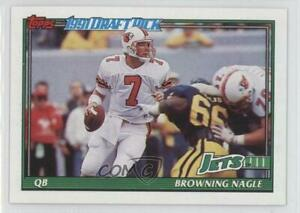 1991 Topps Browning Nagle #481 Rookie $1.14