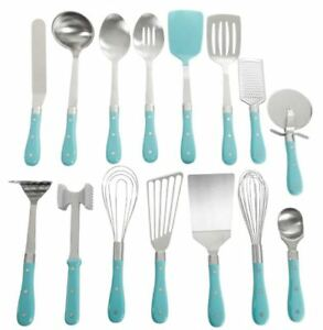 Kitchen Utensil Set 15-Piece All In One Tools and Gadgets Pioneer Woman New