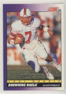 1991 Score Browning Nagle #583 Rookie $1.14
