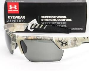 NEW UA UNDER ARMOUR IGNITER 2.0 SUNGLASSES Satin Realtree Camo frame  Gray lens
