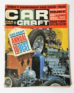 Car Craft Magazine January 1966 10 Best Rods of the Year Chevy Chevelle