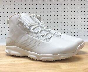 Under Armour Speedfit Mid Size 11 Mens Hiking SAMPLE Boots White 1257447-600