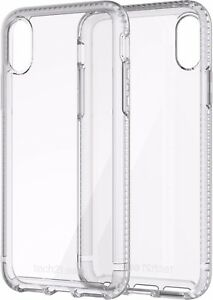 Tech21 Pure Clear Drop Protection Case for Apple iPhone XR - Clear - USED
