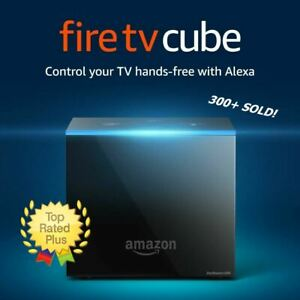 Fire TV Cube w Alexa Remote and 4K Ultra HD Streaming Media Player NEW SEALED!