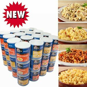 Mountain House Freeze Dried Food 3 MONTHS SUPPLY- 2 MEALSDAY- 2 ADULTS3 KIDS