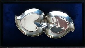 VINTAGE MODERN MEXICAN STERLING SILVER DISHBOWL APPROX. 10 12
