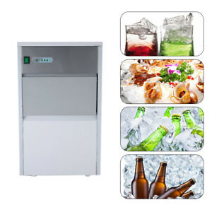 Countertop Stainless Steel Cube Bullet Ice Maker Machine Full automatic share