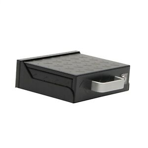 Smittybilt 2746 Secure Lock Box Black 14 gg HD Steel with Mounting Sleeve
